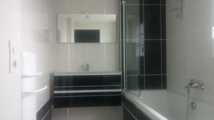 salle bains moderne ritz arcachon villa victoria
